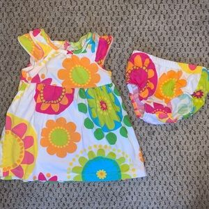 Carter's Dress and Diaper Cover (12M)